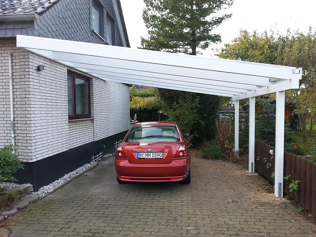 carports mit pultdach carportcenter seewald. Black Bedroom Furniture Sets. Home Design Ideas