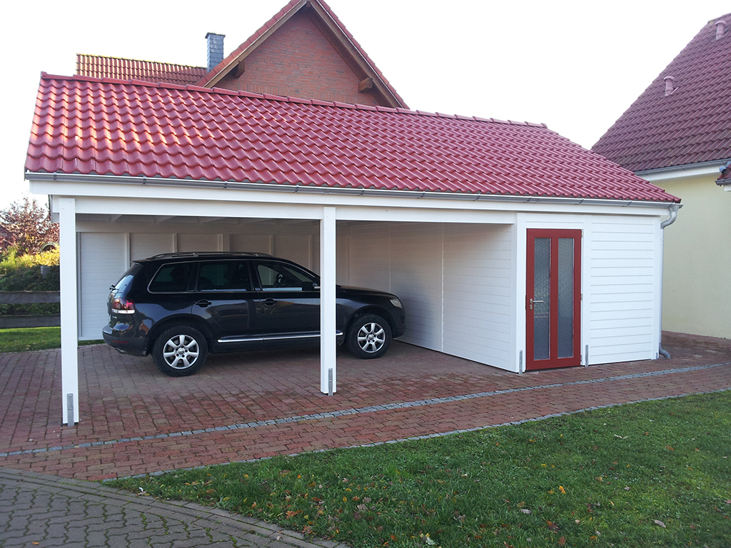 carports mit satteldach carportcenter seewald. Black Bedroom Furniture Sets. Home Design Ideas